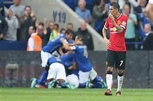 leicester city players celebrate one of their goals against manchester united last season. will they be doing that again?