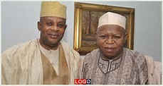 The late Audu (l) and his running mate James Faleke