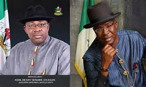 dickson and sylva, main candidates for the bayelsa governorship elections