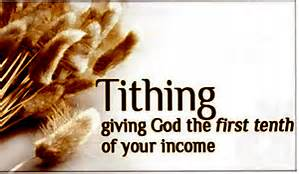 to tithe or not to tithe!
